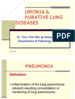 Pneumonia & Suppurative Lung Diseases