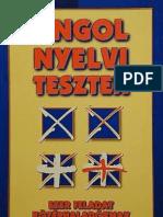 Tóth Zoltán Gábor - Angol nyelvi tesztek