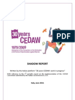 CEDAW Shadow Report submitted by Italian NGO_2011_english