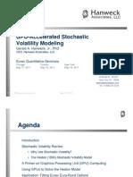 2011-Eurex - GPU-Accelerated Stochastic Volatility Models
