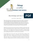 Knowledge and the I Am - Edji Satsang - June 19, 2011