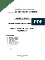 Plantas medicinales!! TRABAJO
