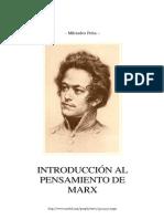 8687220 Milciades Pena Introduccion Al to de Marx