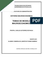 Temas de Modelo Macroeconomico