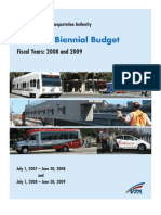 Vta Fy08and09 Budget Book
