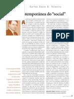 A Idéia Contemporanea do social