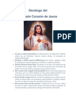 Decálogo del Sagrado Corazón de Jesús