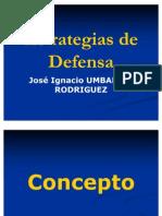 Estrategias de Defensa II