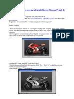 Merubah Foto Berwarna Menjadi Sketsa Warna Pensil Di Photoshop CS5