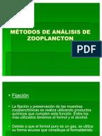 MÉTODOS DE ANÁLISIS DE ZOOPLANCTON