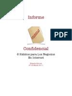 Informe Confidencial 6 Claves Para Los Negocios en Internet