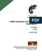 USRP Hardware and Software Description