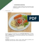 La Gastronomia en Lamb Aye Que