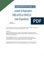 Q Rep DB2 Oracle