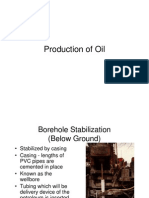 Production of Oil