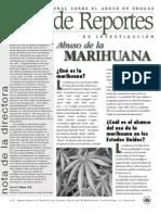 Abuso de La Marihuana