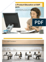 Innovations in Product Education at SAP BO