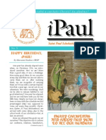 iPaul no. 5 - Saint Paul Scholasticate Newsletter