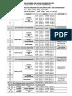 Kalendar Akademik 2010 2011 Updated