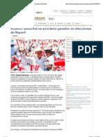 03-07-2011 Roberto Sandoval Se Proclama Ganador en Elecciones de Nayarit - Elchilito.com.Mx