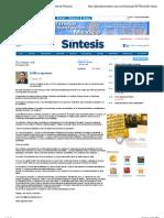 04-07-2011 El PRI se reposiciona   Periódico Sintesis   Portal de Noticias de Puebla, Tlaxcala, Hidalgo