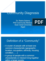 Community Diagnosis Ppt