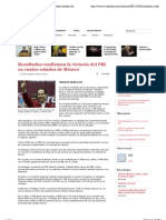 04-07-2011 Resultados confirman la victoria del PRI en cuatro estados de México