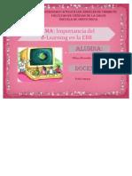 Import an CIA Del B-Learning en La EBR