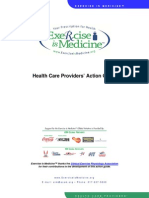 Health Care Providers' Action Guide for Exercise Prescription