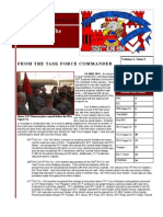 Task Force Sapper Eagle Quarterly Newsletter #2