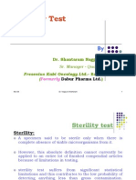 Sterility Test