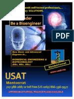 Usat Montserrat Bio Medical Engineering Promo 2011