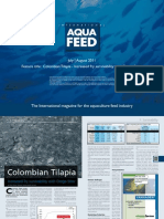 Colombian Tilapia - Increased fry survivability with Orego-Stim®