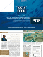 Feed Management - Potential impact of nutrient substitutes in aquafeeds on fish health and on the food safety of aquaculture products