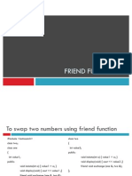 Friend in C++