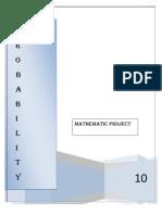 Maths Project