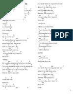 Lyrics Chord