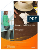 Security in Office 365 Whitepaper