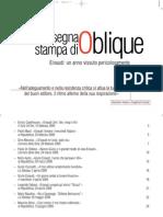 Giulio Einaudi 2010, rassegna stampa monografica