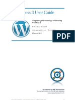 Wordpress 3 User Manual
