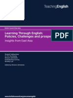 Publication 1 - Learning Through English