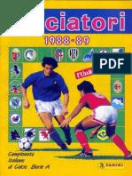 Edizioni.Panini.-.Campionato.1988.1989.-