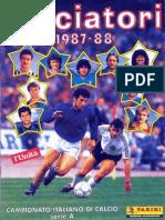 f5a5eae2db5 Edizioni.Panini.-.Campionato.1987.1988.-