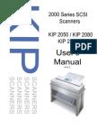 KIP 2000 Series SCSI Scanner User Manual Ver E Kip