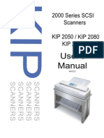 KIP 2000 Series SCSI Scanner User Manual Ver E Kip
