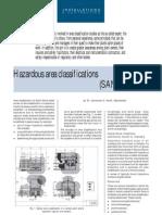 Hazardous Area Classifications (SANS10108)