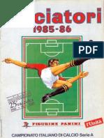 e4d34f5f84c Edizioni.Panini.-.Campionato.1985.1986.-