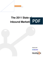 The 2011 State of Inbound Marketing Final