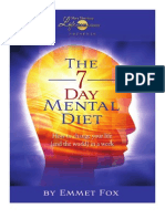 7 Day Mental Diet