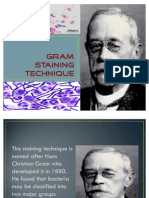 Gram Staining Technique